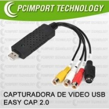 capturadora de video - easycap