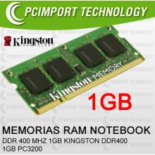 MEMORIA RAM DDR400 MHZ 1GB KINGSTON DDR 400 1GB PC3200