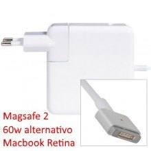 Cargador macbook pro retina - 60w magsafe 2 alternativo