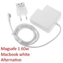 Cargador macbook white - 13 unibody 60w alternativo