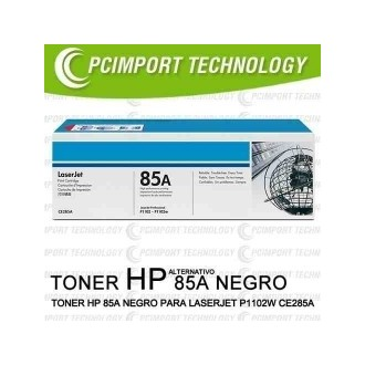 Toner hp laserjet p1102w alternativo 85A