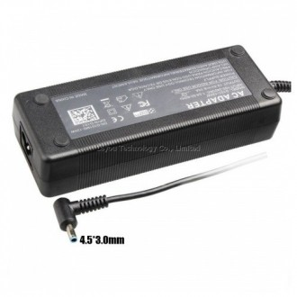 cargador hp punta zul 19.5v 6.15a envy 17 alternativo
