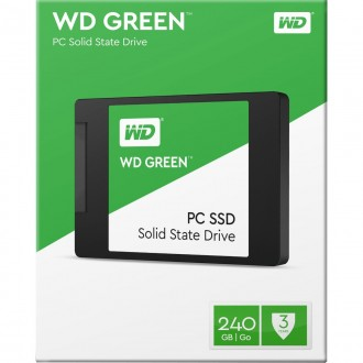 disco Duro SSD solido Wester Digital Green 240GB