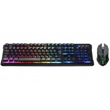Kit Gamer Teclado y Mouse Njoytech Ghost Knight II